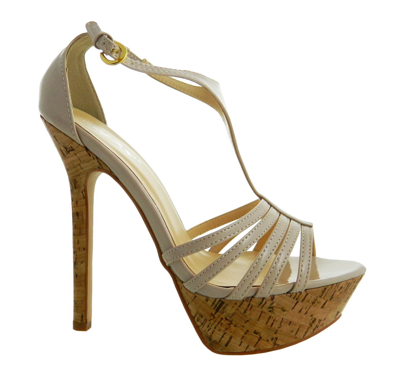 73674b3cbe78 Dámske sandále Peep Toe 6205-GL