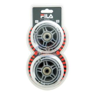 Sada koliesok Fila Black  80mm