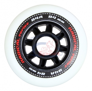 Koliesko Tempish Radical 84 mm white - sada 8 ks